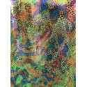 Multi-Color Hologram 4-Way Stretch Camo/Animal Print on Nylon Spandex