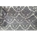 Gray Jacquard Damask Heavy-Duty Upholstery