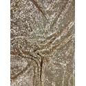 Rose Gold Handmade Metal Mesh Chain Link Panel