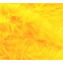 Orange Shaggy Long Pile Faux Fur