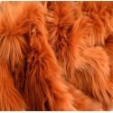 Amber Shaggy Long Pile Faux Fur