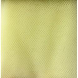 Faint Yellow Tulle