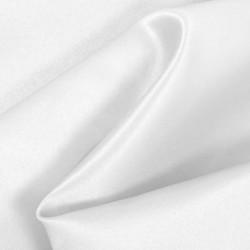 White Matte Satin (Peau de Soie)