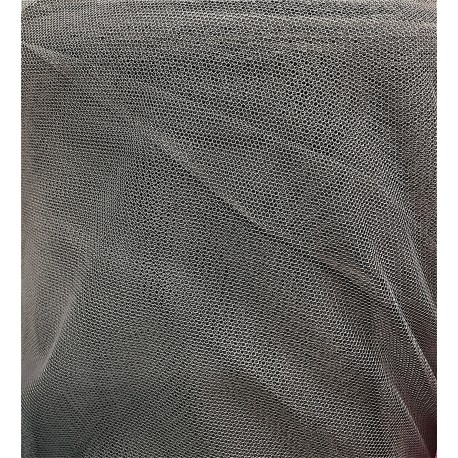 Dark Grey English Net