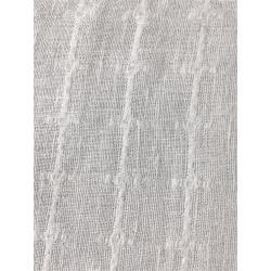 White Jacquard Linen