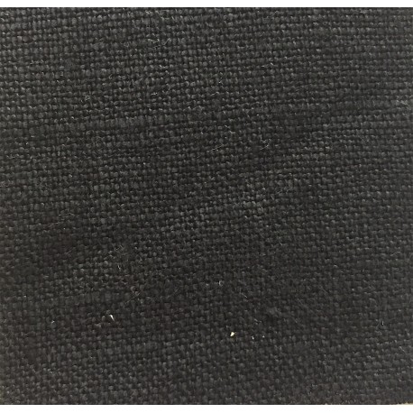 Black Medium Weight 5.5 oz Linen