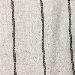 Stripe Medium Weight 5.5 oz Linen