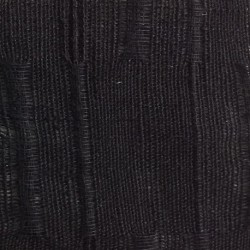 Black Lithuanian Long Rice Jacquard Linen