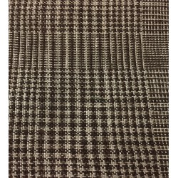 Italian Multi Check 9 oz Linen