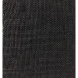 Black Hankie 3.5 oz Linen