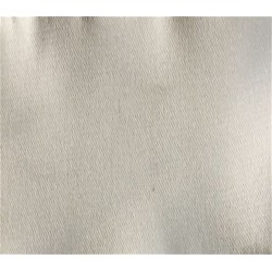 Ivory Stretch Polyester Satin