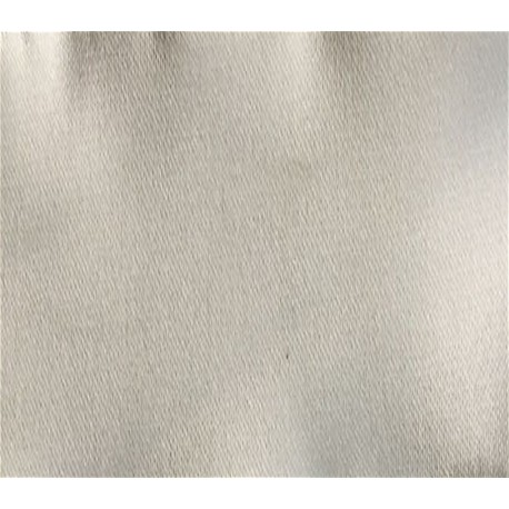Ivory Stretch Polyester Satin