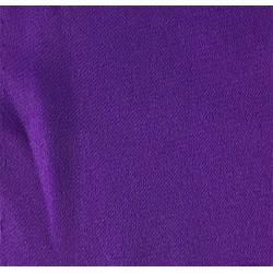 Purple Stretch Polyester Satin