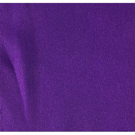 Purple Stretch Polyester Satin
