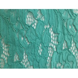 Aqua Light Weight Guipure Lace
