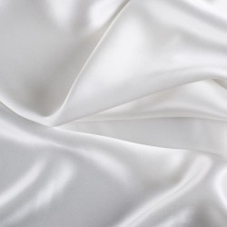 White Silk Charmeuse