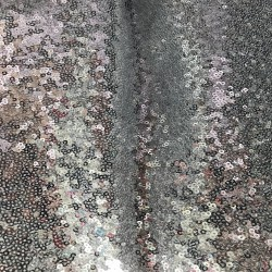 Silver Mini Disk Sequins