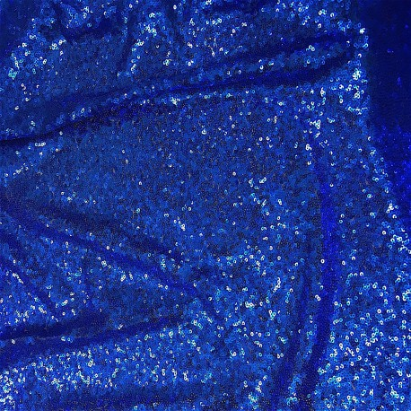 Royal Blue Mini Disk Sequins