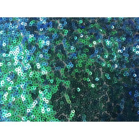 Green/Blue Designed Mini Disk Sequin